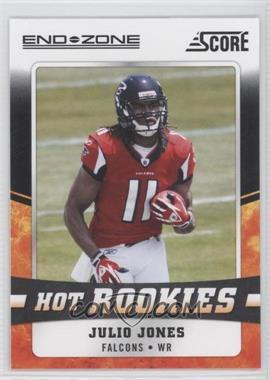 2011 Score - Hot Rookies - End Zone #17 - Julio Jones