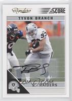 Tyvon Branch