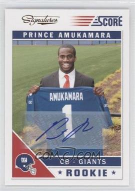 2011 Score - Signatures #373 - Prince Amukamara