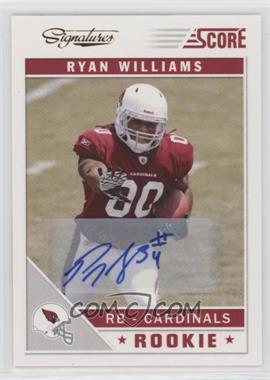 2011 Score - Signatures #387 - Ryan Williams