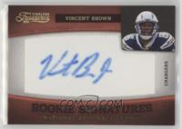 Vincent Brown #/10
