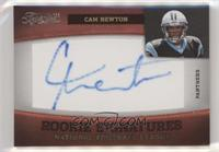 Rookie Signatures - Cam Newton #/163