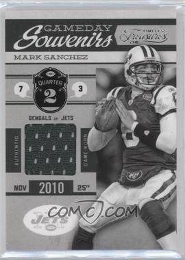 2011 Timeless Treasures - Gameday Souvenirs - 2nd Quarter #12 - Mark Sanchez /200