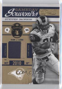2011 Timeless Treasures - Gameday Souvenirs - 4th Quarter Prime #11 - Steven Jackson /25