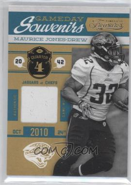 2011 Timeless Treasures - Gameday Souvenirs - 4th Quarter #16 - Maurice Jones-Drew /135