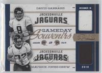 David Garrard, Maurice Jones-Drew /25