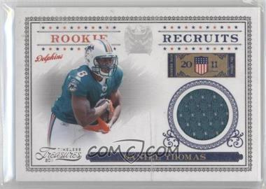2011 Timeless Treasures - Rookie Recruits Materials #30 - Daniel Thomas /250