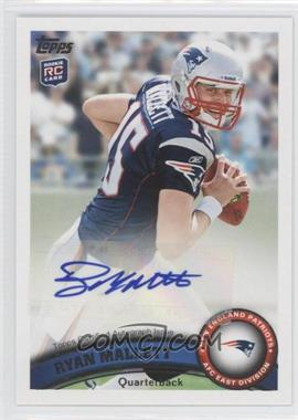 2011 Topps - [Base] - Rookie Variations Autographs [Autographed] #438 - Ryan Mallett