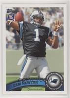 Cam Newton (Making 4 With Left Hand) [Noted]