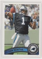 Cam Newton (Making 4 With Left Hand) [Good to VG‑EX]