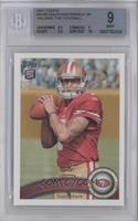 Colin Kaepernick (Ball in Both hands) [BGS 9 MINT]