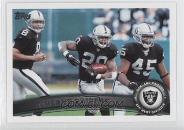 2011 Topps - [Base] #52 - Oakland Raiders Team