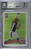 Andy Dalton (releasing ball) [BGS 9 MINT]