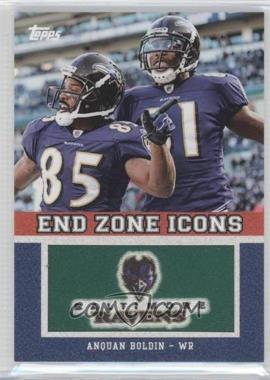 2011 Topps - End Zone Icons #EZI-53 - Anquan Boldin