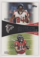 Roddy White, Julio Jones [EX to NM]
