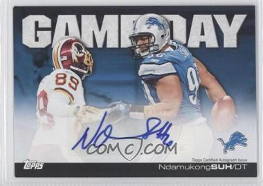 2011 Topps - Game Day - Certified Autograph [Autographed] #GDA-NS - Ndamukong Suh