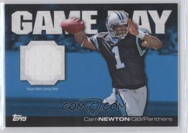 2011 Topps - Game Day - Relics [Memorabilia] #GDR-CN - Cam Newton