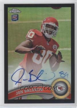2011 Topps Chrome - [Base] - Black Refractor Rookie Autograph [Autographed] #123 - Jonathan Baldwin /25