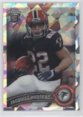 2011 Topps Chrome - [Base] - Crystal Atomic Refractor #163 - Jacquizz Rodgers /139
