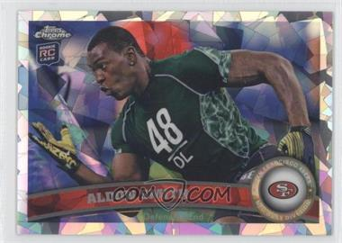 2011 Topps Chrome - [Base] - Crystal Atomic Refractor #37 - Aldon Smith /139