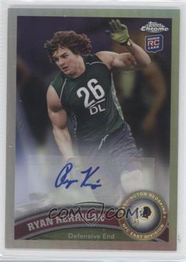 2011 Topps Chrome - [Base] - Refractor Rookie Autograph [Autographed] #9 - Ryan Kerrigan /99