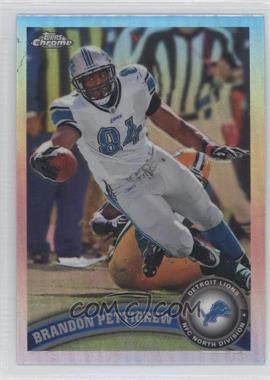 2011 Topps Chrome - [Base] - Refractor #49 - Brandon Pettigrew