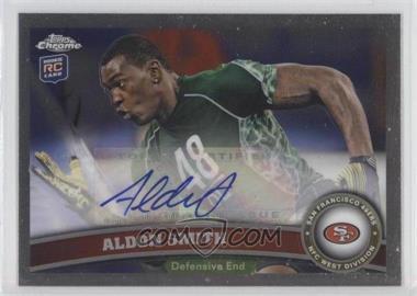 2011 Topps Chrome - [Base] - Rookie Autograph [Autographed] #37 - Aldon Smith