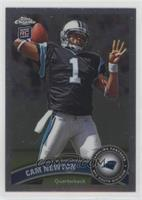 Cam Newton (Throwing Ball) [EX to NM]