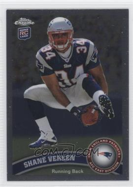 2011 Topps Chrome - [Base] #184.2 - Shane Vereen (Ball Underneath Legs)