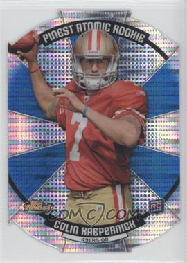 2011 Topps Finest - Finest Atomic Rookie Die-Cut #FAR-CK - Colin Kaepernick