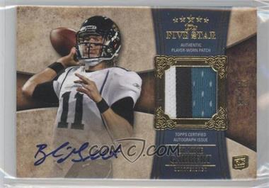 2011 Topps Five Star - [Base] #155 - Blaine Gabbert /65