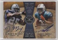 DeMarco Murray, Daniel Thomas [Noted] #/20