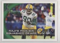 Raji's Pick-Six Squashes Bears