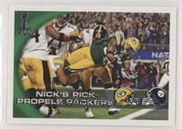 Nick's Pick Propels Packers