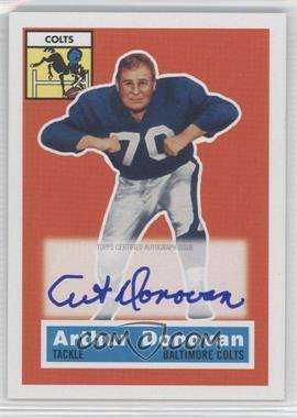 2011 Topps Gridiron Legends - 1956 Topps Reprint Autographs #36 - Art Donovan