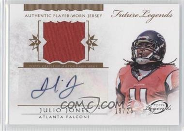 2011 Topps Gridiron Legends - Future Legends Autographed Relic #FLAR-JJ - Julio Jones /25