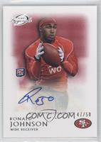 Ronald Johnson /50