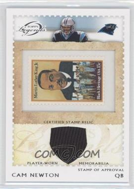 2011 Topps Gridiron Legends - Stamp of Approval Relics #SOAR-CN - Cam Newton