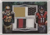 Julio Jones, Mark Ingram #/1