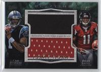 Cam Newton, Julio Jones /15