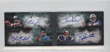 2011 Topps Inception - Quad Rookie Autographs #QA-NGLM - Cam Newton, Blaine Gabbert /5