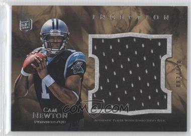 2011 Topps Inception - Rookie Jumbo Relics #JR-CN - Cam Newton /158