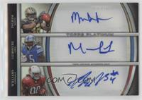 Mark Ingram, Mikel Leshoure, Ryan Williams #/10