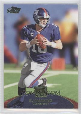 2011 Topps Prime - [Base] - Aqua #49 - Eli Manning