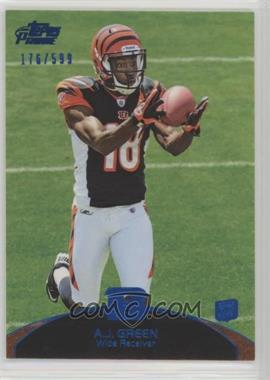 2011 Topps Prime - [Base] - Blue #31 - A.J. Green /599