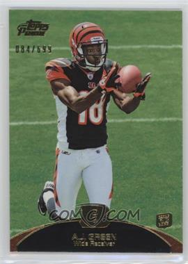 2011 Topps Prime - [Base] - Gold #31 - A.J. Green /699