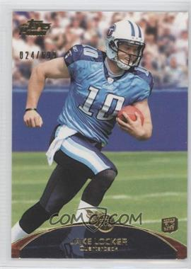 2011 Topps Prime - [Base] - Gold #82 - Jake Locker /699