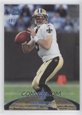 2011 Topps Prime - [Base] - Powder Blue #70 - Drew Brees /75