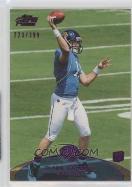 2011 Topps Prime - [Base] - Purple #83 - Blaine Gabbert /399
