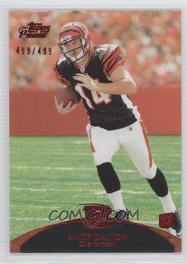 2011 Topps Prime - [Base] - Red #113 - Andy Dalton /499